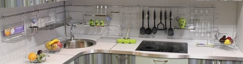рейлинговые системы для кухни фото